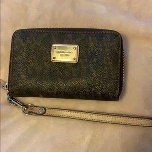 Michael Kors small logo wallet